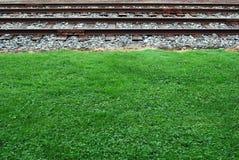 Piste del treno Fotografie Stock