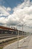 Piste del treno dello svizzero Fotografie Stock Libere da Diritti