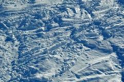 Piste della neve Immagini Stock Libere da Diritti