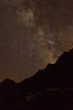 Piste della stella Fotografie Stock