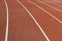 Piste di atletismo Immagini Stock