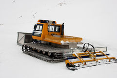 Piste machine Stock Photo