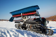 Piste machine (snow cat) Stock Images