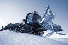 Piste machine (snow cat) Royalty Free Stock Photos