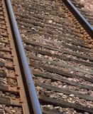 Piste a macroistruzione del treno immagine stock libera da diritti