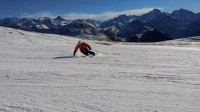 Piste, Mountain Range, Mountainous Landforms, Skiing Stock Photography