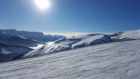 Piste, Mountain Range, Sky, Mountainous Landforms