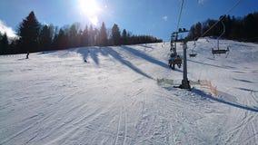 Piste, Mountain Range, Snow, Winter stock photo