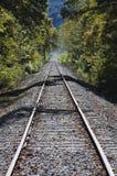 Piste nella distanza Fotografie Stock Libere da Diritti