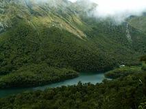 Piste Nouvelle Zélande de Routeburn Image libre de droits