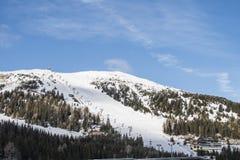 Piste. Skiing in Austria, Katschberg, Alps Stock Image