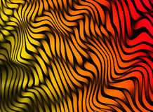Pistes abstraites de couleur texture 3D colorée Photographie stock