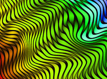 Pistes abstraites de couleur texture 3D colorée Photos libres de droits