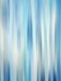 Pistes bleues rougeoyantes Photographie stock