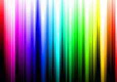 Pistes colorées d'arc-en-ciel Photo libre de droits