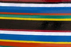 Pistes colorées de couleurs photographie stock libre de droits
