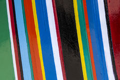 Pistes colorées de couleurs Photos stock