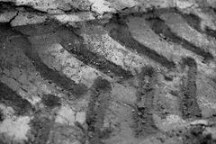 Pistes dans la boue 6 Image libre de droits