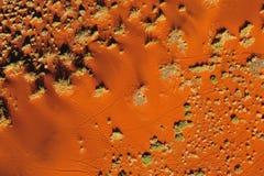 Pistes dans le sable (Namibie) images libres de droits