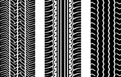 Pistes de pneu Photo stock