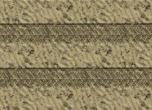pistes de pneu de véhicule en sable illustration stock