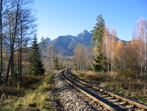 Pistes de train Photographie stock
