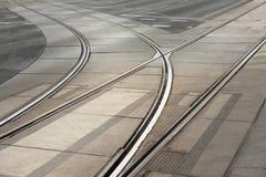 Pistes de tramway photos stock