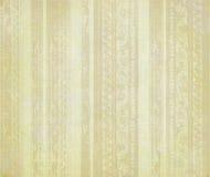 pistes pâles florales découpées par brun en bois Images libres de droits