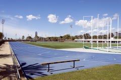 pistes 4x100 sportives photos libres de droits