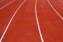 pistes 4x100 sportives images libres de droits