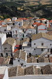 Pisticci, Basilicata, Italy. The old town white house traditional architecture. Stock Photo