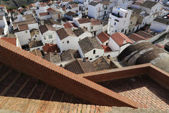 Pisticci landscape. From the top Stock Photo