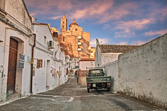 Pisticci, Matera, Basilicata, Italy: view of the old town Stock Photography