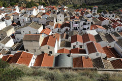 Pisticci town. Particular of Pisticci old town roofs Stock Image