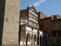 Pistoia - Duomo immagine stock libera da diritti
