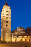 Pistoia duomo cathedral monument Stock Photography