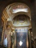 Pistoia - interiore del Duomo fotografie stock