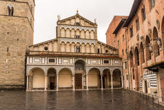 Pistoia Italy. St. Zeno Cathedral in Pistoia, Italy Royalty Free Stock Image