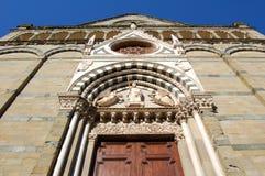Pistoia kyrka av San Paolo, Tuscany, Italien Royaltyfria Bilder