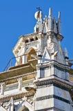 Pistoia monument gothic church stock photography