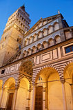 Pistoia old cathedral piazza duomo royalty free stock photos