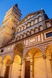 Pistoia piazza stary katedralny duomo Zdjęcia Royalty Free