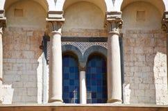 Pistoia romantyczny okno Zdjęcia Stock