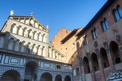 Pistoia (Toscânia, Itália) fotografia de stock