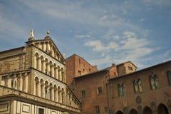 Pistoia - Toskana stockfoto
