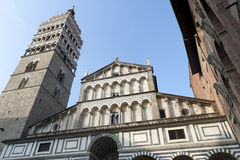 Pistoia (Tuscany), cathedral facade Stock Photography