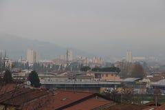 Pistoia. View from Santa Barbara Fortess. Tuscany. Italy. royalty free stock photo