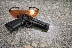Pistol. An image taken off a toy gun Royalty Free Stock Photos