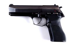 Pistol. Royalty Free Stock Photos