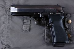 Pistol. Royalty Free Stock Photography